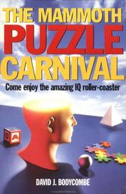 Cover of: The mammoth puzzle carnival