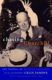 Cover of: Chasing Churchill | Celia Sandys