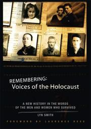 Cover of: Remembering: Voices of the Holocaust
