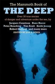 Cover of: The Mammoth Book of the Deep | Jon E. Lewis