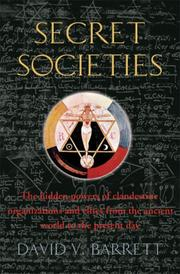 Cover of: A Brief History of Secret Societies