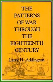 Cover of: The patterns of war through the eighteenth century