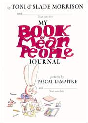 Cover of: Book of Mean People, The - Journal