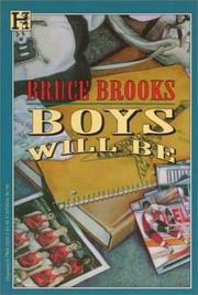 Cover of: Boys will be