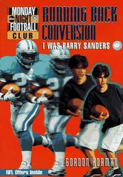 Cover of: Running back conversion: I was Barry Sanders