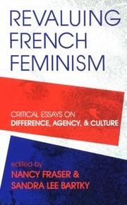 Cover of: Revaluing French Feminism