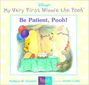 Cover of: Be patient, Pooh