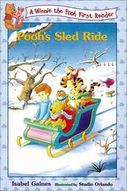 Cover of: Pooh's sled ride