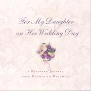 Cover of: For My Daughter On Her Wedding Day | tk
