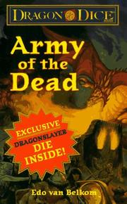 Cover of: Army of the Dead (Dragon Dice Series , No 2)