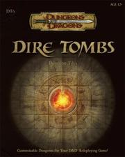 Cover of: Dire Tombs | James Wyatt