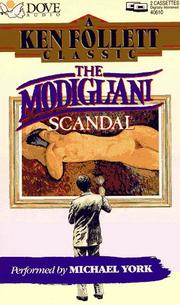 Cover of: The Modigliani Scandal