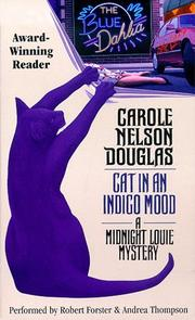 Cover of: Cat in an Indigo Mood (Midnight Louie Mysteries (Audio)) |