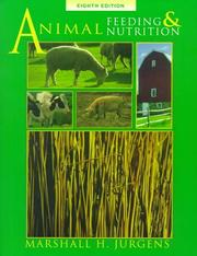 Animal Feeding and Nutrition by Marshall H. Jurgens