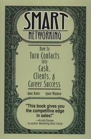 Cover of: Smart networking | Anne Baber