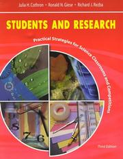Cover of: Students and Research  | Julia Cothron