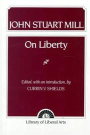 Cover of: On Liberty (Library of Liberal Arts)