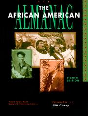 Cover of: The African American Almanac (African-American Almanac) |
