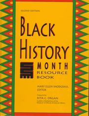 Cover of: Black history month resource book |