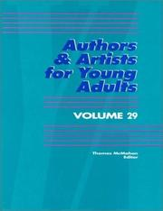 Cover of: Authors & Artists for Young Adults Volume 29 (Authors and Artists for Young Adults) | Thomas McMahon