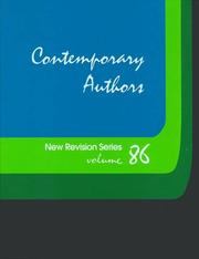 Cover of: Contemporary Authors New Revision, Vol. 86 |