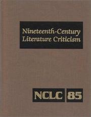 Cover of: Nineteenth Century Literature Criticism | Suzanne Dewsbury