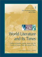 Cover of: Latin American literature and its times | Joyce Moss