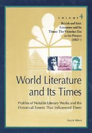 Cover of: World Literature and Its Times | Joyce Moss