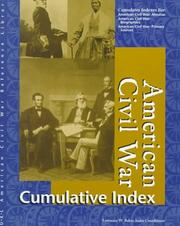 Cover of: American Civil War reference library cumulative index |