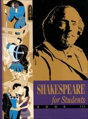 Cover of: Shakespeare for students. |