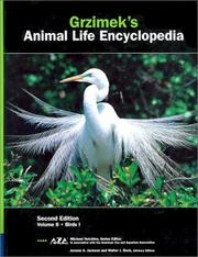 Cover of: Grzimek's Animal life encyclopedia by