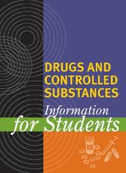 Cover of: Drugs and controlled substances |