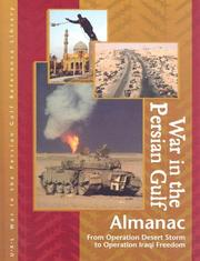 Cover of: War in the Persian Gulf Almanac Edition 1. | Laurie Collier Hillstrom