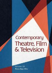 Cover of: Contemporary Theatre, Film and Television | Thomas Riggs