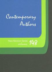 Cover of: Contemporary Authors | Tracey L. Matthews