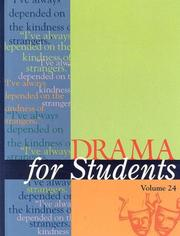Cover of: Drama for Students |
