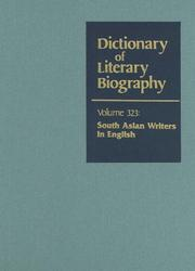 Cover of: Dictionary Of Literary Biography v. 323 | Fakrul Alam