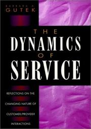 Cover of: The dynamics of service