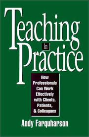 Cover of: Teaching in practice
