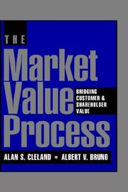 Cover of: The market value process