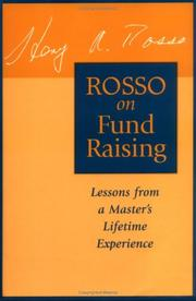 Cover of: Rosso on fund raising