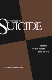 Cover of: In the wake of suicide