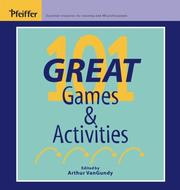 101 Great Games & Activities (Pfeiffer)