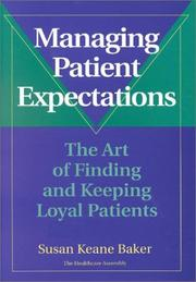 Cover of: Managing patient expectations