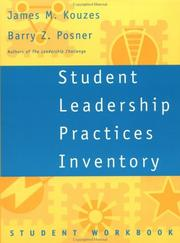 Cover of: Student Leadership Practices Inventory, Student Workbook (The Leadership Practices Inventory)