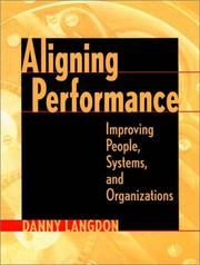 Cover of: Aligning Performance | Danny Langdon