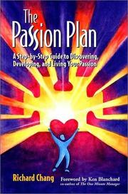 Cover of: The Passion Plan