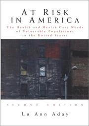 Cover of: At Risk in America