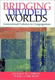 Cover of: Bridging Divided Worlds: Generational Cultures in Congregations