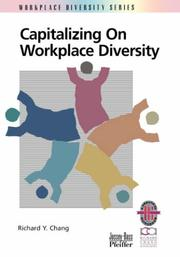 Cover of: Capitalizing on workplace diversity